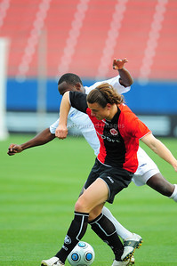 April 10th, 2009: Eintracht Frankfurt Yannick Stark #6 in action during a Super U19 semi-final game at the Dr. Pepper Dallas Cup between the Eintracht Frankfurt and the Vancouver Whitecaps  at the Pizza Hut Park Stadium in Frisco, Tx.