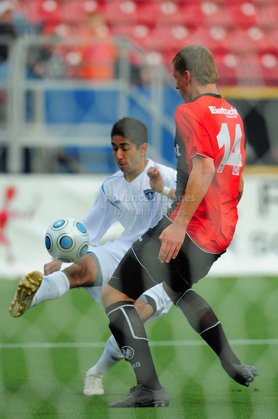 April 10th, 2009: Vancouver Whitecaps Gagandeep Dosanjh #10 in action during a Super U19 semi-final game at the Dr. Pepper Dallas Cup between the Eintracht Frankfurt and the Vancouver Whitecaps  at the Pizza Hut Park Stadium in Frisco, Tx.
