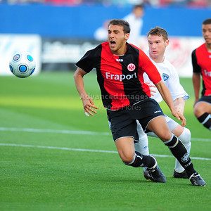 April 10th, 2009: Eintracht Frankfurt Cenk Tosun #11 in action during a Super U19 semi-final game at the Dr. Pepper Dallas Cup between the Eintracht Frankfurt and the Vancouver Whitecaps  at the Pizza Hut Park Stadium in Frisco, Tx.