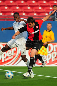 April 10th, 2009: Vancouver Whitecaps Dever Orgill #11 during a Super U19 in action during a semi-final game at the Dr. Pepper Dallas Cup between the Eintracht Frankfurt and the Vancouver Whitecaps  at the Pizza Hut Park Stadium in Frisco, Tx.