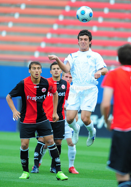 April 10th, 2009: Frankfurt Max Fiege #12 in action during a semi-final game at the Dr. Pepper Dallas Cup between the Eintracht Frankfurt and the Vancouver Whitecaps  at the Pizza Hut Park Stadium in Frisco, Tx.