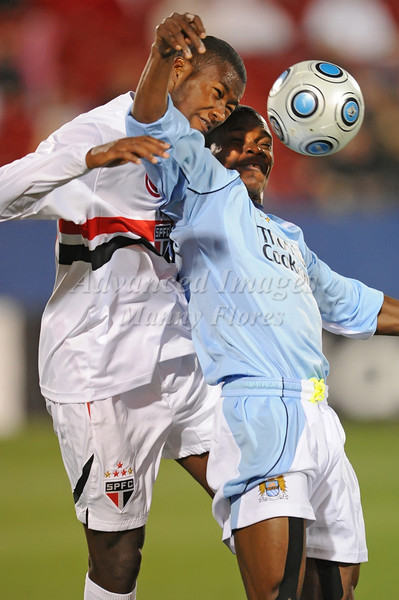 April 10th, 2009:<br /> During a Super U19 semi-final game at the Dr. Pepper Dallas Cup between the Manchester City FC and the Sao Paulo FC at the Pizza Hut Park Stadium in Frisco, Tx.