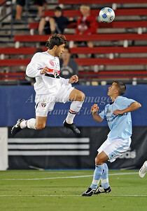 April 10th, 2009: During a Super U19 semi-final game at the Dr. Pepper Dallas Cup between the Manchester City FC and the Sao Paulo FC at the Pizza Hut Park Stadium in Frisco, Tx.