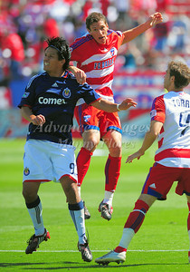 29, March 2009:   FC Dallas defender Aaron Pitchkolan #17 in action during the soccer game between FC Dallas & Chivas USA at the Pizza Hut Stadium in Frisco,TX. Chivas USA  beat FC Dallas 2-0. Manny Flores/Icon SMI