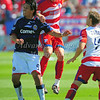 29, March 2009:  <br /> FC Dallas defender Aaron Pitchkolan #17<br /> in action during the soccer game between FC Dallas & Chivas USA at the Pizza Hut Stadium in Frisco,TX. Chivas USA  beat FC Dallas 2-0.<br /> Manny Flores/Icon SMI