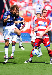 29, March 2009:   Chivas USA Defender Carey Talley #12 in action during the soccer game between FC Dallas & Chivas USA at the Pizza Hut Stadium in Frisco,TX. Chivas USA  beat FC Dallas 2-0. Manny Flores/Icon SMI