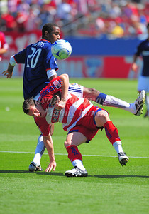 29, March 2009:   FC Dallas forward Kenny Cooper #33 in action during the soccer game between FC Dallas & Chivas USA at the Pizza Hut Stadium in Frisco,TX. Chivas USA  beat FC Dallas 2-0. Manny Flores/Icon SMI