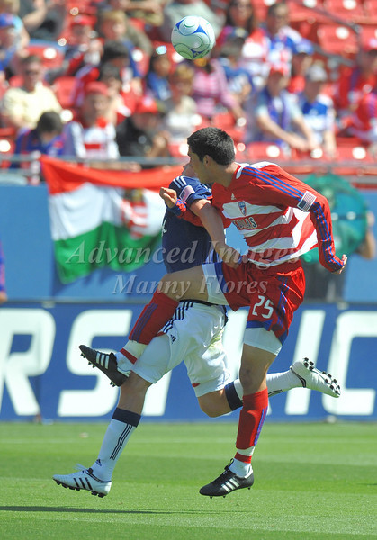 29, March 2009:  <br /> FC Dallas defender Steve Purdy #25<br /> in action during the soccer game between FC Dallas & Chivas USA at the Pizza Hut Stadium in Frisco,TX. Chivas USA  beat FC Dallas 2-0.<br /> Manny Flores/Icon SMI