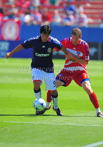 29, March 2009:   Chivas USA Forward Eduardo Lillingston #99 in action during the soccer game between FC Dallas & Chivas USA at the Pizza Hut Stadium in Frisco,TX. Chivas USA  beat FC Dallas 2-0. Manny Flores/Icon SMI