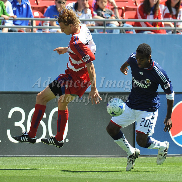 29, March 2009:  <br /> FC Dallas midfielder Dave van den Bergh #7 in action during the soccer game between FC Dallas & Chivas USA at the Pizza Hut Stadium in Frisco,TX. Chivas USA  beat FC Dallas 2-0.<br /> Manny Flores/Icon SMI