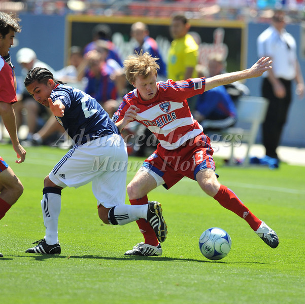 29, March 2009:  <br /> FC Dallas midfielder Dax McCarty #13<br /> in action during the soccer game between FC Dallas & Chivas USA at the Pizza Hut Stadium in Frisco,TX. Chivas USA  beat FC Dallas 2-0.<br /> Manny Flores/Icon SMI