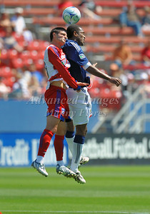 29, March 2009:   FC Dallas defender Steve Purdy #25 in action during the soccer game between FC Dallas & Chivas USA at the Pizza Hut Stadium in Frisco,TX. Chivas USA  beat FC Dallas 2-0. Manny Flores/Icon SMI