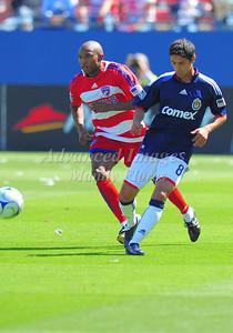 29, March 2009:   Chivas USA defender Mariano Trujillo #8 in action during the soccer game between FC Dallas & Chivas USA at the Pizza Hut Stadium in Frisco,TX. Chivas USA  beat FC Dallas 2-0. Manny Flores/Icon SMI