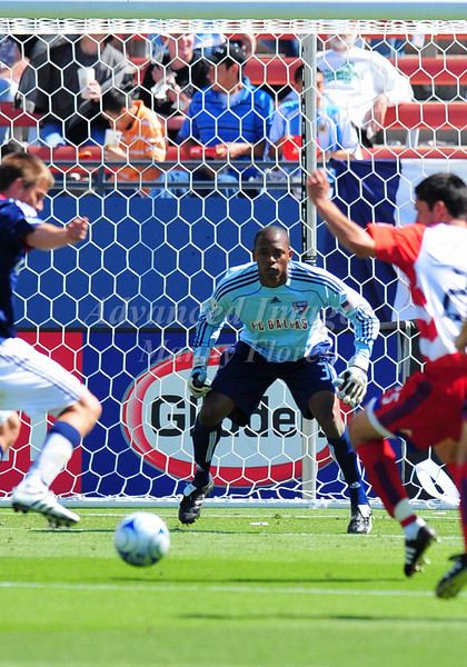 29, March 2009:  <br /> FC Dallas goalkeeper Josh Lambo#22<br /> in action during the soccer game between FC Dallas & Chivas USA at the Pizza Hut Stadium in Frisco,TX. Chivas USA  beat FC Dallas 2-0.<br /> Manny Flores/Icon SMI