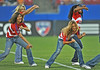 17 July 2010:  <br /> FC Dallas Cheerleaders perform during the game between Real Salt Lake and FC Dallas at the Pizza Hut Stadium in Frisco, TX. Mandatory Credit: Manny Flores/Southcreek Global