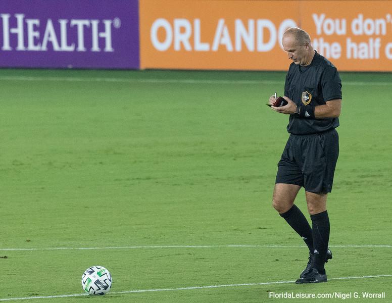 Orlando City Soccer Club 1 New York City FC 1, Exploria Stadium, Orlando, Florida - 14th October 2020 (Photographer: Nigel G Worrall)
