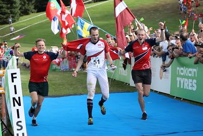 Voittajajoukkue, Norja