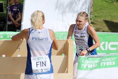 Vaihto ankkuriosuudelle, Maija Sianoja, Marika Teini