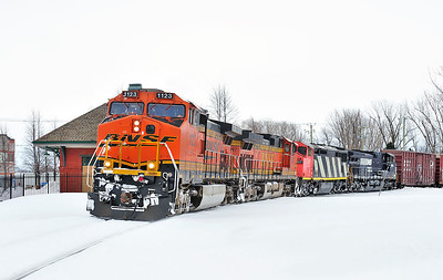 CN #529, St-Jean Qc, March 14 2014