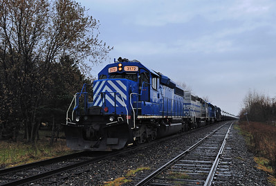 MM&A ``Fuel Train`` Farnham Qc November  2013