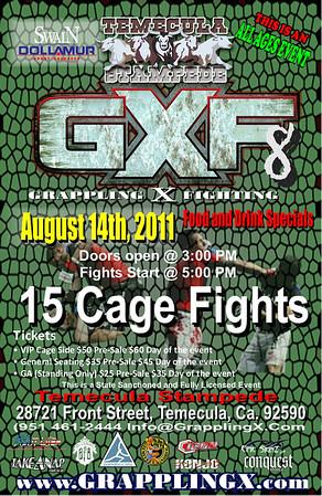 Aug, 14, 2011 Temecula, CA GXF8