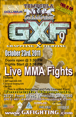 Oct. 23, 2011 Temecula, CA GXF9