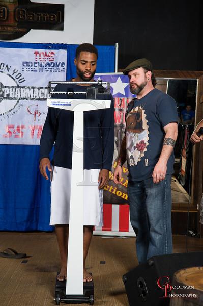 Bluegrass Brawl 7 Weigh Ins
