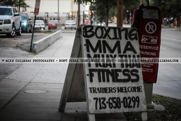 Houston Muay Thai Sparring Night III by Diego Reyes