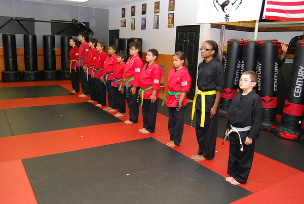 Color belt promotions 061914