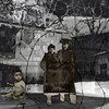 Vered Galor, 2006<br /> To Prison, 1943<br /> Photographic digital Collage
