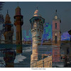 Tel Aviv Towers II, 2008<br /> Photographic Digital Collage