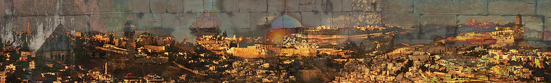 Jerusalem of Gold, 2008<br /> Photographic Digital Collage