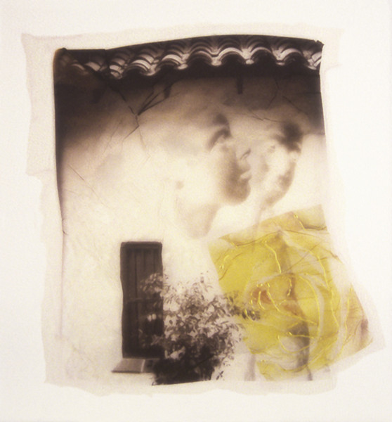 Judith and Nadav, 2003<br /> Photographic Emulsion Transfer on paper