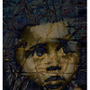 Veronica 1943, 2012<br /> Mixed Media and Photographic Digital Collage