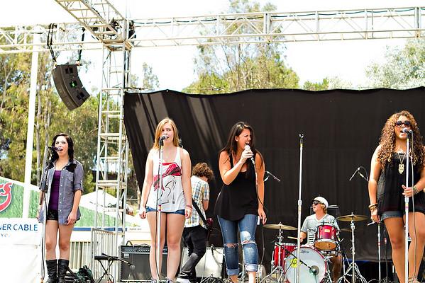 MMET perform at the OC Fair, August 2010