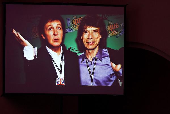 Beatles vs.  Stones - 2/16/12