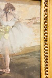 Dancers Practicing at the Barre; Edgar Degas; 1877