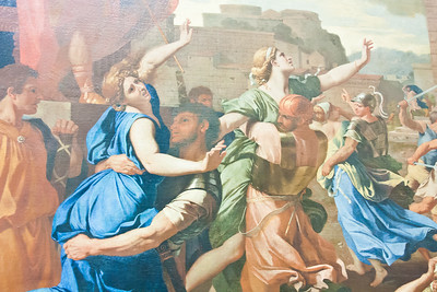 The Abduction of the Sabine Women; Nicolas Poussin; 1633