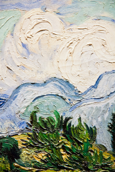 Wheat Field with Cypresses; Vincent van Gogh; 1889