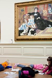 Madame Georges Charpentier and Her Children; Auguste Renoir; 1878