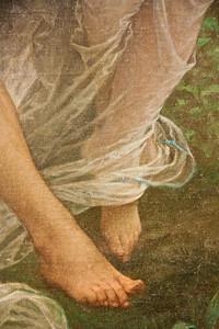 Springtime: Pierre-Auguste Cot; 1873