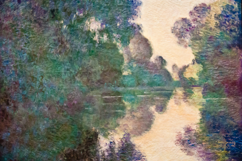 Ile aux Orties near Vernon; Clude Monet; 1897
