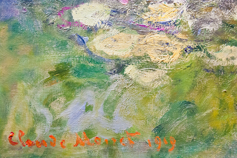 Water Lilies; Claude Monet; 1919