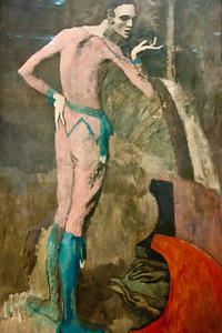 The Actor; Pablo Picasso; 1904