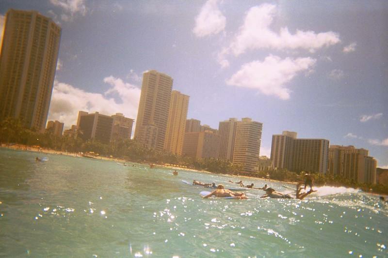 Waikiki surfing #2