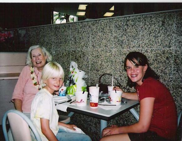McDonalds Noodle Ladies