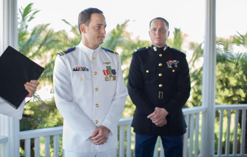 George wedding 1