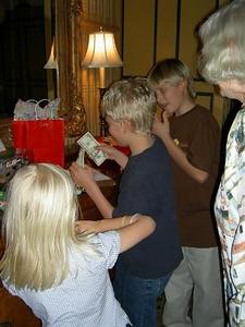 C opening gifts Jan 05