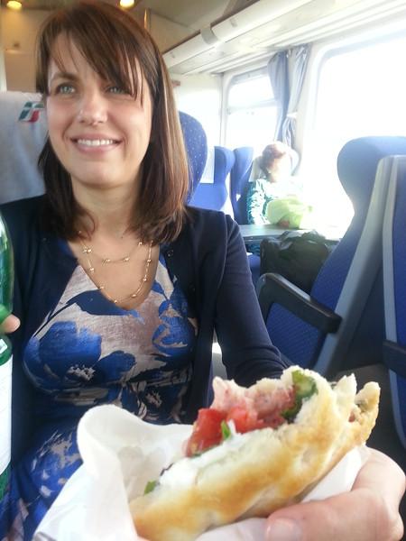 6-28-15 train to Firenze