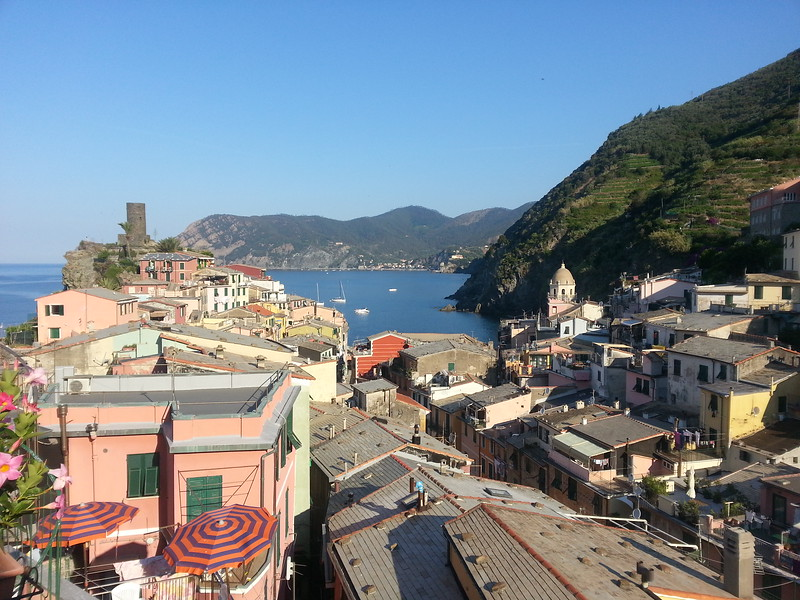6-28-15 Vernazza view from hotlel room